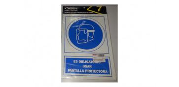 SEÑAL USAR PANTALLA PROTECTOR 21X29,7