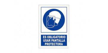 Señalizacion - SEÑAL OBLIGACIO PANTALLA PROTECT