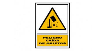 Señalizacion - SEÑAL PELIGRO CAIDA DE OBJETOS 210X297