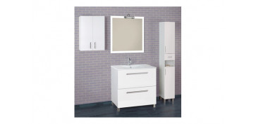 Mobiliario de baño - COLUMNA 2 PUERTAS +1 CAJON 181X27X25 BLANCO