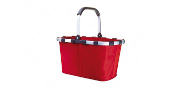 Reutilizable Eco-Friendly - CARRY BAG-BOLSA ASA ALUM. ROJO