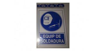 SEÑAL EQUIP SOLDADURA CATALAN