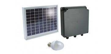 Generacion energia solar y eolica - KIT ILUMINACION SOLAR SUNLIGHT MOD 4