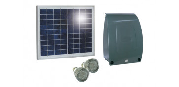 Generacion energia solar y eolica - KIT ILUMINACION SOLAR SUNLIGHT MOD 10