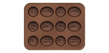 CORTAPASTAS CON MOLDE CHOCOLATE HADAS