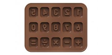 CORTAPASTAS CON MOLDE CHOCOLATE NUMEROS