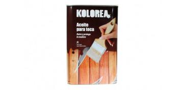 Proteccion y tratamiento para madera - ACEITE TECA KOLOREA 5 L INCOLORO