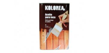Proteccion y tratamiento para madera - ACEITE TECA KOLOREA 5 L TECA