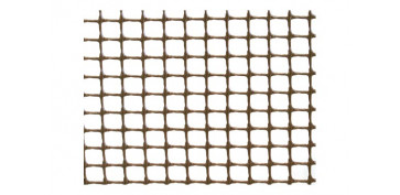 MALLA BALCONET C05 (LUZ 4,5X4,5) 390GR/M2 1X5 MT MARRON