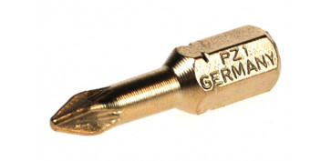 PUNTA POZIDRIV DIAMANTADA ( 1 PIEZA) PZ 1 - 25 MM.