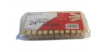 Textil y costura - PINZA MADERA EXPORT 24U AMBIT EXP 131/AM