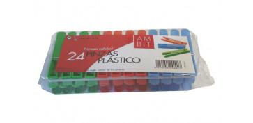 Textil y costura - PINZA PLASTICO BOMBA 24U AMBIT BOM 131/AM