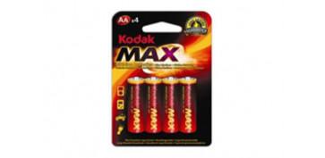 Pilas y baterías - PILA ALCALINA MAX LR06 BL4-AA