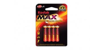 Pilas y baterías - PILA ALCALINA MAX LR03 BL4-AAA