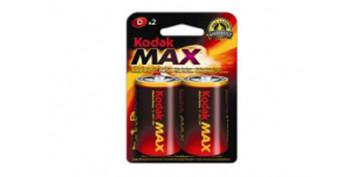 Pilas y baterías - PILA ALCALINA MAX LR20 BL2-D