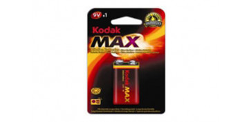 Pilas y baterías - PILA ALCALINA MAX 6LR61-9V BL1