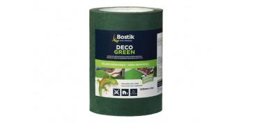 Adhesivos - BANDA UNION DECO GREEN VERDE-15CMX5M