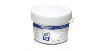 Pintura para paredes, techos y suelo - PINTURA PLASTICA BLANCA MATE INTERIOR 20 KG