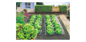 Plantas y cuidado de las plantas - PLASTICO ANTIHIERBAS TERRAFILM 1,4X10 MT -NEGRO