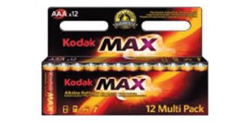 Pilas y baterías - PILA ALCALINA MAX POWER LR03 BL12-AAA