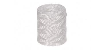 Cuerdas y cintas - HILO RAFIA 600 1C (1,7MM) 400 GR BLANCO