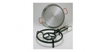 Electrodomesticos de cocina - PAELLERO D.400MM+PAELLA D.420MM