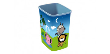 Ordenacion - GUARDATODO RECTANGULAR 25L HAPPYANIMALS