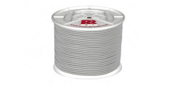 Cuerdas y cintas - CUERDA ELASTICA LATEX BLANCA 8MM-100 MT
