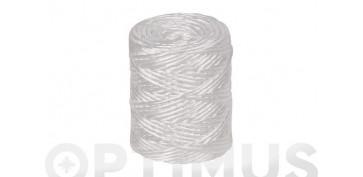 Cuerdas y cintas - HILO RAFIA 600 1C (1,7MM) 200 GR BLANCO