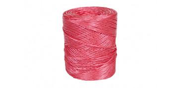 Cuerdas y cintas - HILO RAFIA 600 1C (1,7MM) 700 GR ROJO
