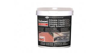 Masillas y siliconas - SILICONA LIQUIDA SL3000 5KG BLANCO