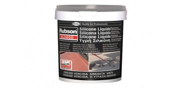 Masillas y siliconas - SILICONA LIQUIDA SL3000 5KG GRIS