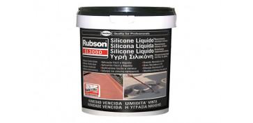 Masillas y siliconas - SILICONA LIQUIDA SL3000 5KG NEGRO
