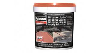 Masillas y siliconas - SILICONA LIQUIDA SL3000 5KG TEJA