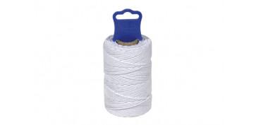 Cuerdas y cintas - HILO ALGODON CABLEADO 1,8 MM 50 MT BLANCO