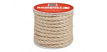 Cuerdas y cintas - CUERDA SISAL CABLEADA 4C 10MM 25MT