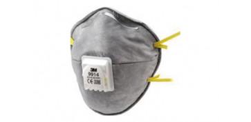 Proteccion de la cabeza - MASCARILLA MOLDEADA FFP1 C/VALVULA VAPORES ORGANICOS 9914