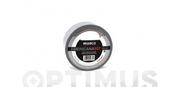 Adhesivos - CINTA AMERICANA 357 50MM X 10M-PLATA