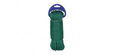 Cuerdas y cintas - CUERDA PE CABLEADA 4C 5MM 20 MT VERDE