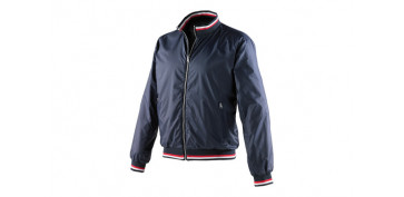 CHAQUETA REVERSIBLE RACE AZUL T.XL