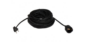 Cables - PROLONGADOR 3X1,5 NEGRO 16A 3MT