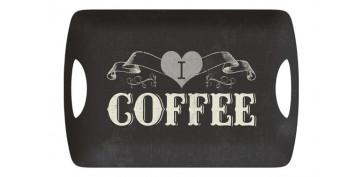 BANDEJA MELAMINA 47,2X32,7CM COFFEE