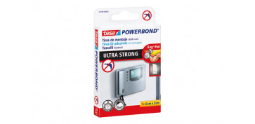 Adhesivos - CINTA DOBLE CARA POWERBOND ULTRASTRONG 6CMX2CM