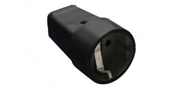 Material instalacion electrico - BASE MOVIL 10/16A NEGRO