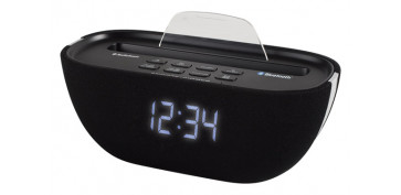 RADIO RELOJ DESPERTADOR BLUETOOTH
