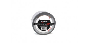 Adhesivos - CINTA AMERICANA 357 50MM X 10M-NEGRO