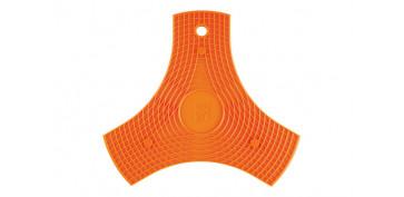Textil y costura - PROTECTOR-SALAVAMANTEL SILICONA SAFE NARANJA
