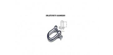 Cables y cadenas - GRILLETE RECTO GALVANIZADO 5