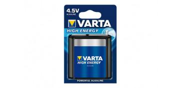 Pilas y baterías - PILA ALCALINA HIGH ENERGY 3LR12 BL.1 4,5V