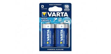 Pilas y baterías - PILA ALCALINA HIGH ENERGY LR20D BL.2